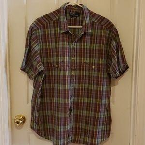 Mens Button Down Shirt Size XXL